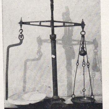 VICTORIAN SCALE - Tools and Hardware