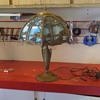 old slump glass light