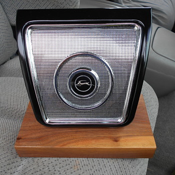 early 60's Impala rear seat speaker - Classic Cars