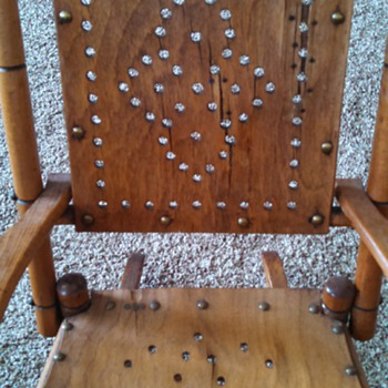 Child's  old rocking chair