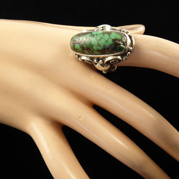 Arts and Crafts Turquoise ring