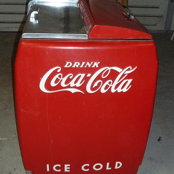 """coca cola deli  cooler L 72""""x H 36""""x W 26"""" .  - Coca-Cola"""