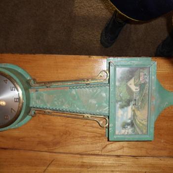 gilbert clock face says gilbert 1807