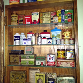 Tins Galore - Advertising