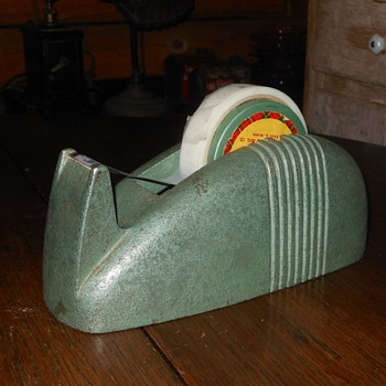 1940s Cast Iron Scotch Tape Dispenser - Office
