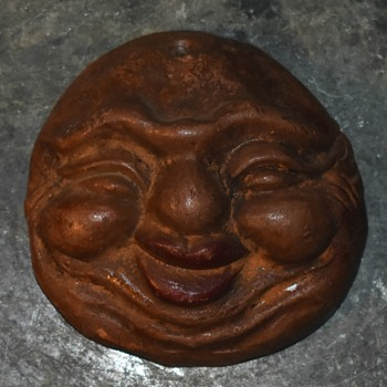Banko Advertising Face - late 19th century - Pottery