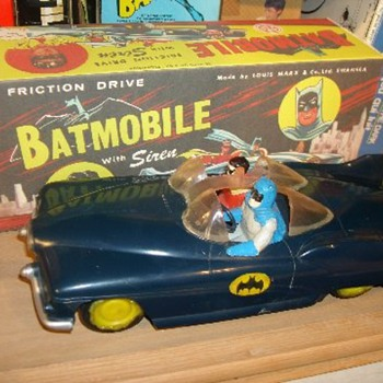"""Marx"" Batmobile - Toys"