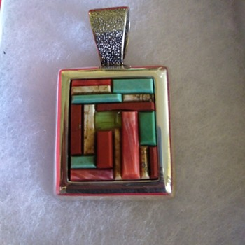 Carolyn Pollack relios Sterling pendant - Fine Jewelry