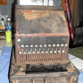 my old cash register