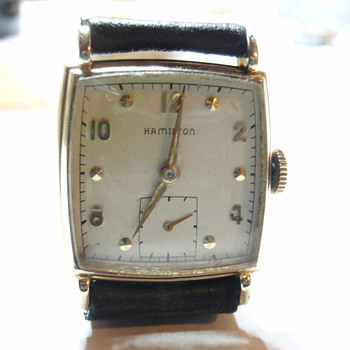 "1948 Hamilton ""Dyson"" 14K 17 Jewel 747 caliber - Wristwatches"