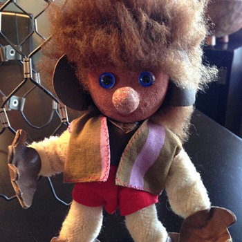 1960s Norwegian Troll Doll - Dolls