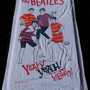Beatles Beach Towel-1964 - Music Memorabilia