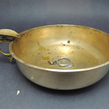 Brass Cigar Bowl: A. Mettahedeh Design India  - Asian