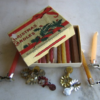 Old Christmas ornaments - Christmas