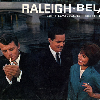 1968 Raleigh/BelAir Cigarette Coupon Catalog - Paper