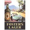 Australian beer tin signs