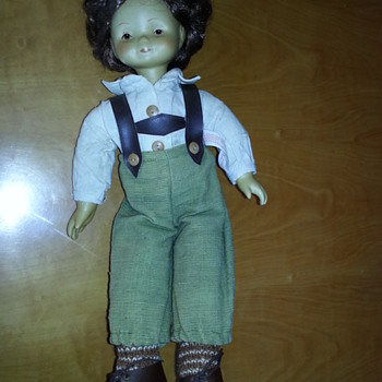 an oldish doll