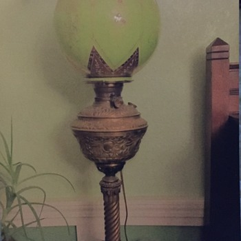 Antique Lamps from Father in Law - Lamps