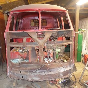 VW Crewcab resto