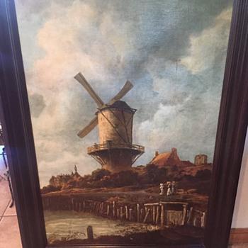 Windmill at Wijk