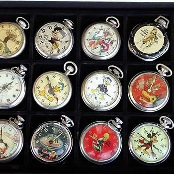 Box full of Goodies - Pocket Watches