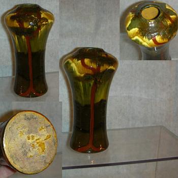 Unusual Weller Birdimal Vase