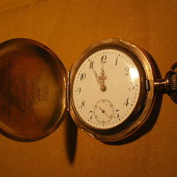 14 carat gold German made pocket watch??? - Pocket Watches