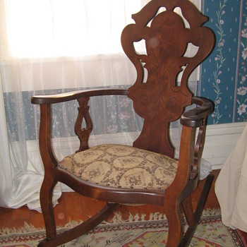Aunt Dot's rocking chair