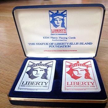 Kem cards Liberty Centennial - in wrapper - Cards