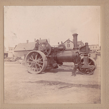 Steam roller from beverly ma - Photographs