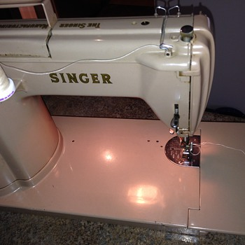 1954 Singer 301A - Sewing