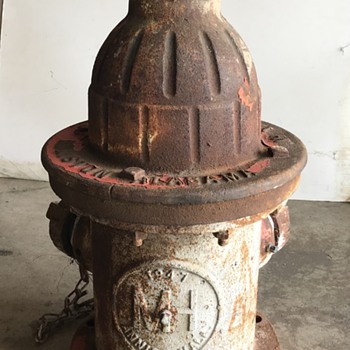 Vintage fire hydrant - Firefighting