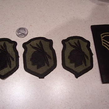 Would like info on these patches - Military and Wartime