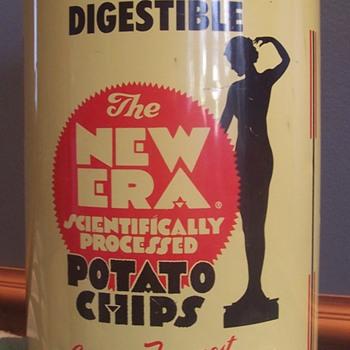 New Era Chip Tin! - Advertising