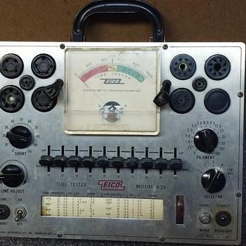 EICO portable vacuum tube tester - Electronics