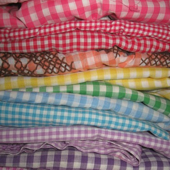 Gingham Apron Collection