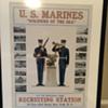 Huge Framed Marine Poster From New York Recruiting Station