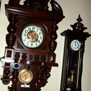 Freidrich Mauthe 'Free Swinger' or Berliner Wall Clock - Clocks