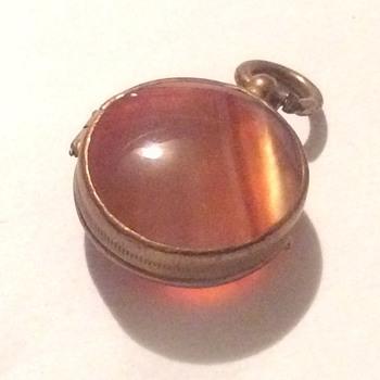 Antique  photo locket