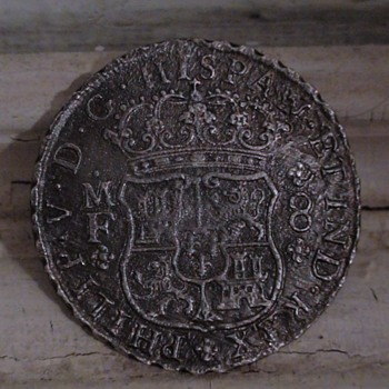 REYGERSDAHL SHIPWRECK (1747)  PILLAR DOLLAR, 1743 MEXICO CITY - World Coins
