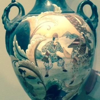 Satsuma Vase - Pottery