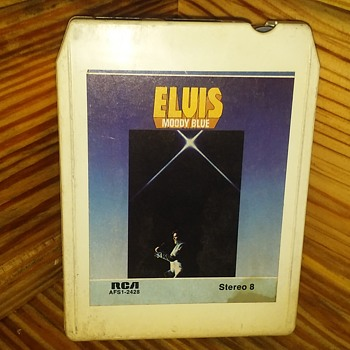 Mr. Elvis Aaron Presley....On 8-Track Tape Format - Records
