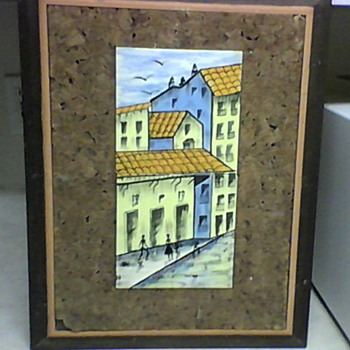 CERAMIC TILE PAINTING - Pottery