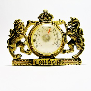 ENGLISH CRESTED BAROMETER