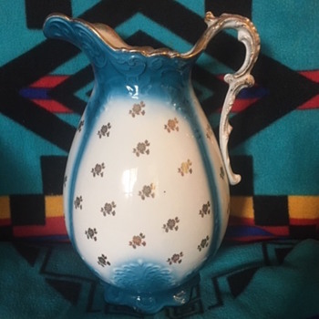 1890-pre1900 Laughlin Pitcher - China and Dinnerware