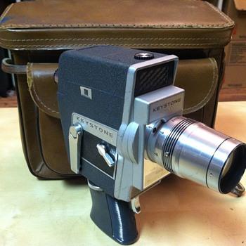 Keystone K-811 8mm Windup Camera - Cameras
