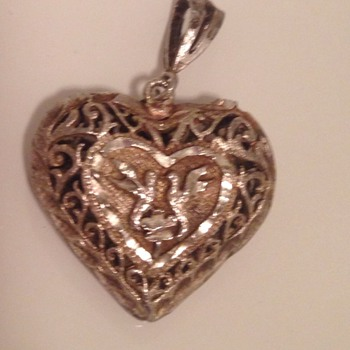 Old Heart Necklace