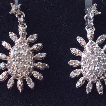 Vintage silver earrings - Fine Jewelry