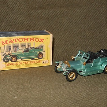 Magnificent Magnified Matchbox Monday Models Of Yesteryear Y-15 1907 Rolls-Royce Silver Ghost - Model Cars