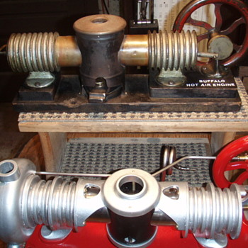 Antique Hot Air Engines - Tools and Hardware